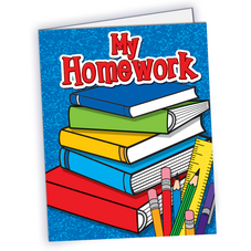 My Homework Pocket Folder