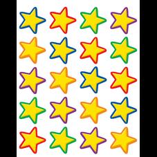 Yellow Stars Stickers