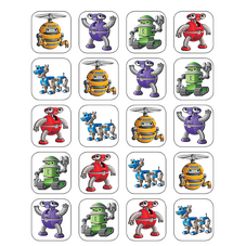Robots Stickers