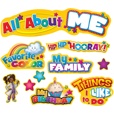 All About Me Mini Bulletin Board Display Set