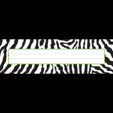 Zebra Flat Name Plates