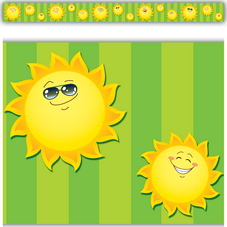Happy Suns Straight Border Trim