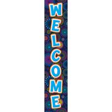 Fireworks Welcome Banner