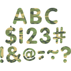 """Camouflage Classic 2"""" Letters Uppercase Pack"""
