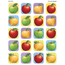 Apple Stickers from Susan Winget