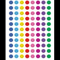 Assorted Happy Faces Mini Stickers Super Valu-Pak