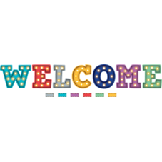 Marquee Welcome Bulletin Board Display