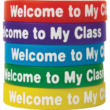 Welcome to My Class Wristbands 10-Pack
