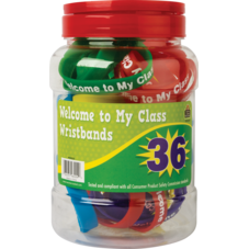 Welcome to My Class Wristbands Jar