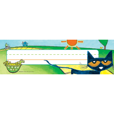Pete the Cat Nameplates