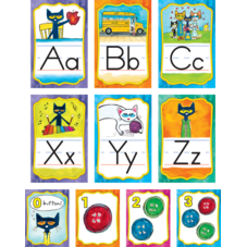 Pete the Cat Alphabet Bulletin Board