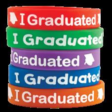I Graduated Wristbands