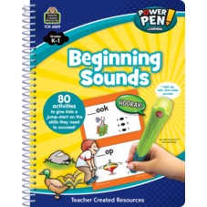 Power Pen Learning Book: Beginning Sounds