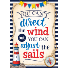 You Can't Direct the Wind Positive Poster