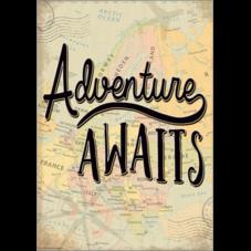 Adventure Awaits Positive Poster
