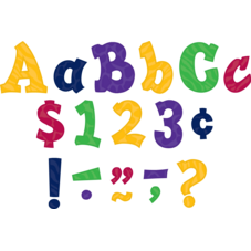 """Multicolor Sassy Animal 3"""" Letters"""