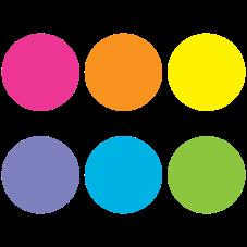 "Spot On Bright Circles Carpet Markers - 7"""