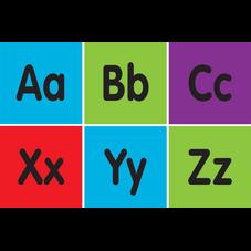 "Spot On Alphabet Carpet Markers - 4"""