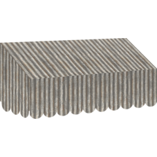 Corrugated Metal Awning