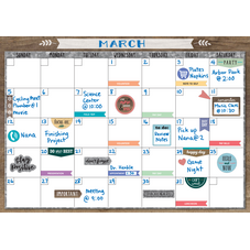 Clingy Thingies: Home Sweet Classroom Calendar Set