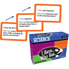 I Have, Who Has Science Game Grade 4-5