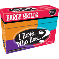 I Have, Who Has Early Skills Game