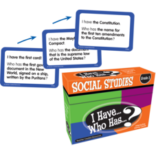 I Have, Who Has Social Studies Game Grade 5