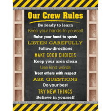 Under Construction Our Crew Rules Chart