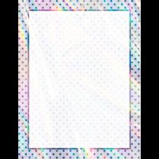 Iridescent Blank Chart