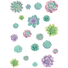 Rustic Bloom Succulent Accents - Assorted Sizes