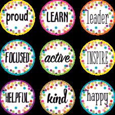 Confetti Positive Words Mini Accents