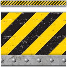 Under Construction Straight Border Trim