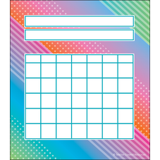 Colorful Vibes Incentive Charts