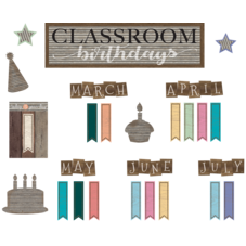 Home Sweet Classroom Birthdays Mini Bulletin Board