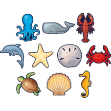 Nautical Sea Life Accents