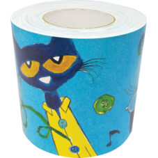 Pete The Cat Straight Rolled Border Trim