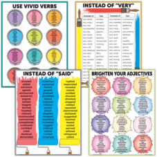 Brighten Vocabulary Poster Set