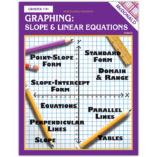 Graphing: Slope & Linear Equations Reproducible Workbook