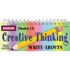 Creative Thinking Write-Abouts Grades 1-3