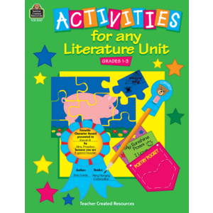 TCR0147 Activities for Any Literature Unit Image