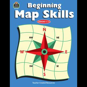 TCR0167 Beginning Map Skills Image