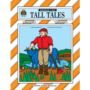 TCR0242 Tall Tales Thematic Unit Image