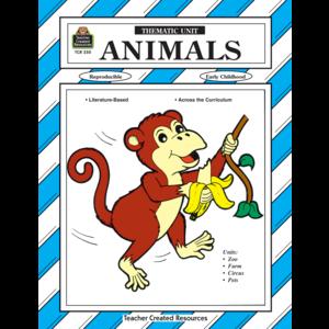 TCR0250 Animals Thematic Unit Image