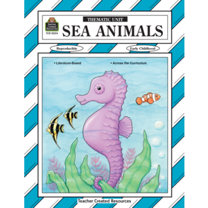 TCR0254 Sea Animals Thematic Unit Image