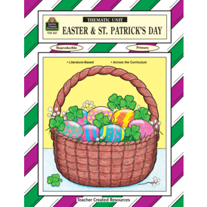 TCR0261 Easter & St Patricks Day Thematic Unit Image