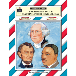 TCR0262 Presidents' Day & Martin Luther King Jr Day Thematic Unit Image