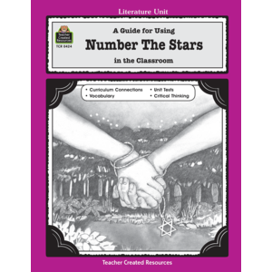 TCR0424 A Guide for Using Number the Stars in the Classroom Image