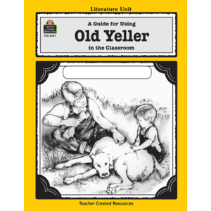 TCR0427 A Guide for Using Old Yeller in the Classroom Image