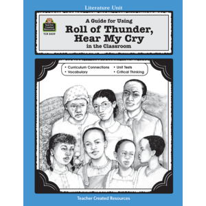 TCR0439 A Guide for Using Roll of Thunder, Hear My Cry in the Classroom Image