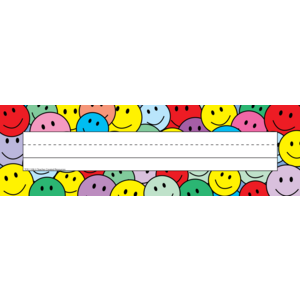 TCR1108 Smiley Faces Name Plates (flat) Image